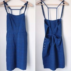 NWOT FREE PEOPLE Intimately Open Back Apron Dress